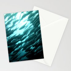 Thousands of jack fish Stationery Cards