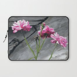 Three Pink Roses Laptop Sleeve
