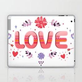 Flora Love Boho Style Laptop & iPad Skin