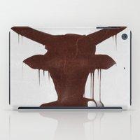 taurus iPad Cases featuring Taurus by Ruben Ireland