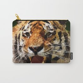 Polygon tiger Carry-All Pouch