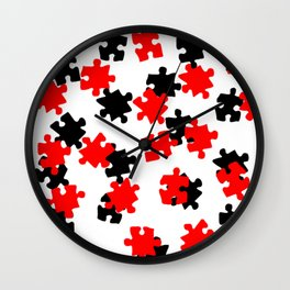 DT PUZZLE SCATTER 8 Wall Clock