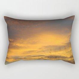 COME AWAY WITH ME - Autumn Sunset #2 #art #society6 Rectangular Pillow