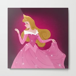 Once Upon A Dream Metal Print