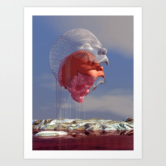 Disconjunction Art Print