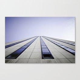 Run-Away Sky-Scraper Canvas Print