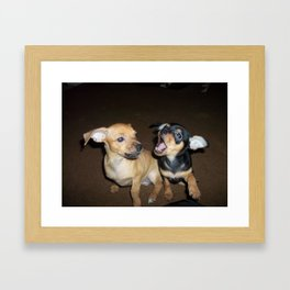 Puppy Palooza 2 Framed Art Print