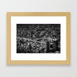 Find me (Tokyo) Framed Art Print