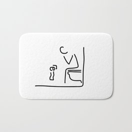 toilet digestion irritant bowel Bath Mat