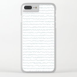 Your handwriting Clear iPhone Case