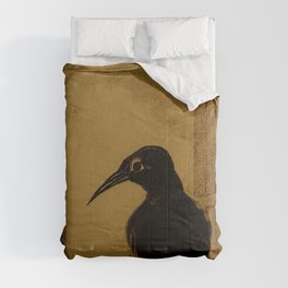 "Odilon Redon ""Le Corbeau (The Crow)"" Comforters"