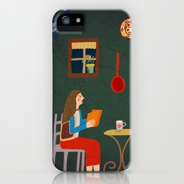 No place like home- Illustration iPhone Case