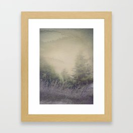 When the Couds Framed Art Print