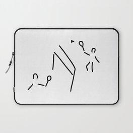 badminton shuttlecock player Laptop Sleeve