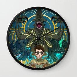 Newton Geiszler : Kaiju Groupie Wall Clock