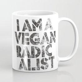 I am a vegan radicalist Coffee Mug