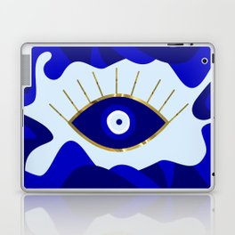 Lava All Seeing Evil Eye Laptop & iPad Skin