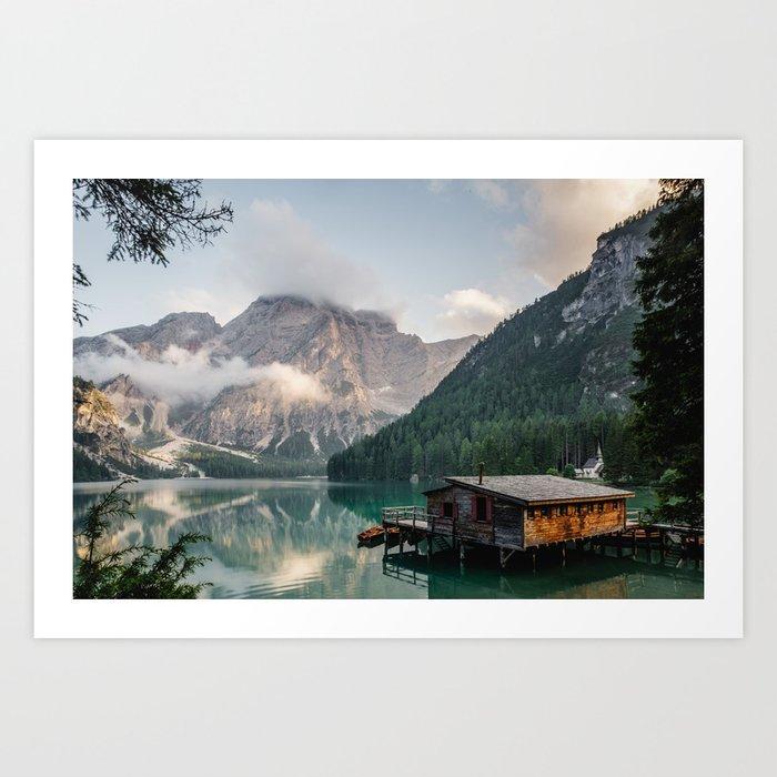Lakehouse Kunstdrucke