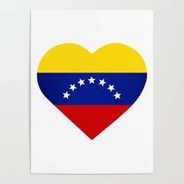 Venezuelan heart - Corazon Venezolano Poster