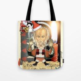 COLLAGE: Santa Claus Tote Bag
