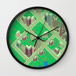Earthbound Fourside Wall Clock