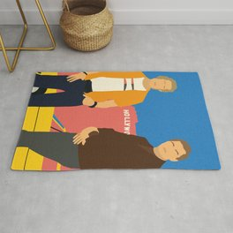 Cliff And Rick Rug