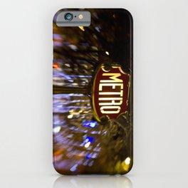 Metro Love iPhone Case