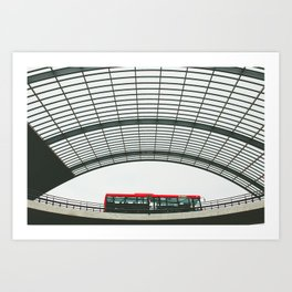 Amsterdam Centraal Train Station #3 Art Print