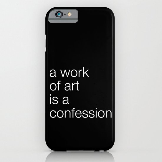 work of art black iPhone & iPod Case