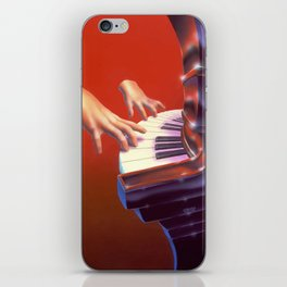 Piano Lessons Can Be Murder iPhone Skin