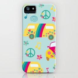 Hippie Neck Gator Hippie Bus Hippies Car Neck Gator iPhone Case