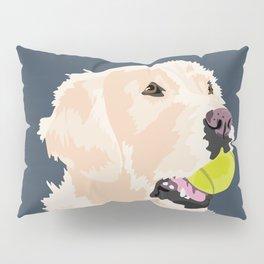 Golden Retriever with tennis ball Pillow Sham