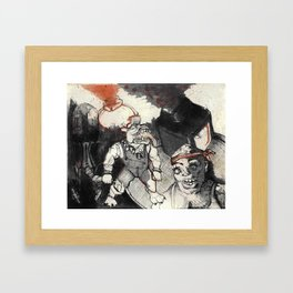 Toxic Crusaders Framed Art Print