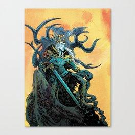 Elf King - Fire Canvas Print