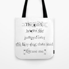 The Quick Tote Bag