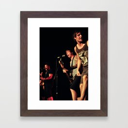 Punk Rock Framed Art Print