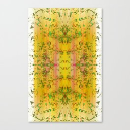 fresh stylized garden Canvas Print