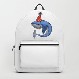 Happy whale Backpack