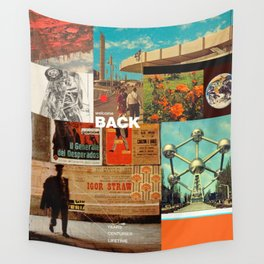 Welcome Back Wall Tapestry