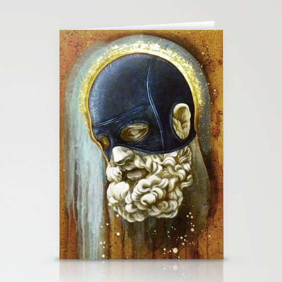"""""""Masked Hercules"""" Stationery Cards"""