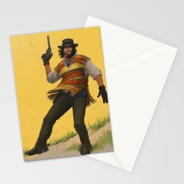 El Pistolero Stationery Cards