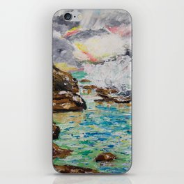 SUNRISE AT BURLEIGH HEADS iPhone Skin
