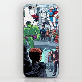 You'll Be Safe Here iPhone Skin