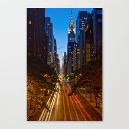 42nd Street Canvas Print