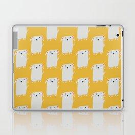Cute sweet Dog Yellow Laptop & iPad Skin