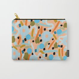 CIRCLES IN MOTION - earthy tones Carry-All Pouch