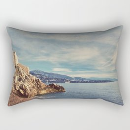 A Monaco View of the French Riviera Rectangular Pillow