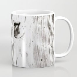 A French Riviera Afternoon in a bikini black and white photograph Coffee Mug