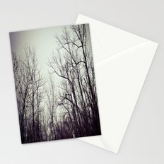 Tree branches in the sky Stationery Cards