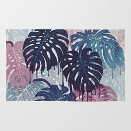 Monstera Melt Rug